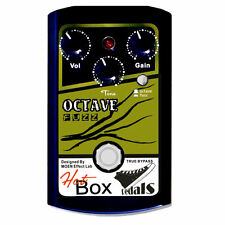 Hot Box Pedals HB-OF OCTAVE and FUZZ Analog Guitar Effect Pedal True Bypass