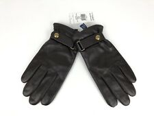 Polo Ralph Lauren Nappa Touchscreen Leather Thinsulate Fleece Lined Gloves