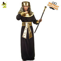 Adult Men Egyptian Pharaoh Costume Carnival Party Native Egyptian Cosplay Suit