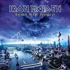 Iron Maiden - Brave New World Vinyl LP Heavy Metal Sticker, Magnet