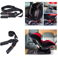 For Baby Car Safety Seat ISOFIX LATCH Belt Connector Interface Connection Black