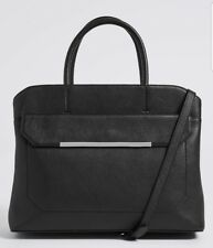 Marks and spencer 100%Leather laptop handbag bnwt RRP:£99
