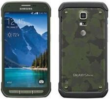 Samsung Galaxy S5 Active SM-G870A - 16GB - Camo Green (Unlocked) GOOD CONDITION