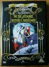The nightmare before christmas dvd - Special Edition Tim Burton VGC