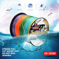 300M Super Strong 8 Strand PE 6-300LB Power Braided Fishing Line Braided Lines