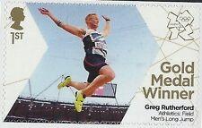 Juegos Olímpicos de SG 3354-2012-GB - medalla de oro salto largo para hombre ganador