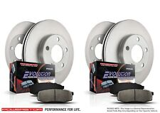 Brake Pad and Rotor Kit Front/Rear Power Stop fits 2007-2012 Lexus ES350/toyota