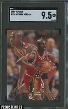 1994-95 Flair #326 Michael Jordan Chicago Bulls HOF SGC 9.5 MINT+