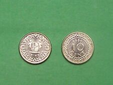 SURINAME  1989  10 CENTS   KM13a   UNCIRCULATED COIN