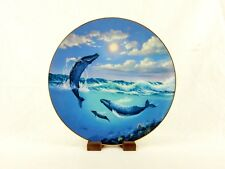 """1991 Collector Plate """"Song Of The Humpback"""", Save The Whales, A. Casay, #Plt18"""