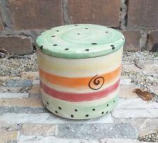 Französische Butterdose french butter dish Wasserbutterdose in DUO Keramik