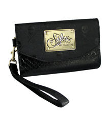 Sullen Clothing Womens iPhone 6 Black Snake Icon Wallet