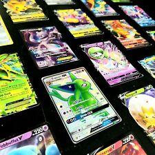 Pokemon Card Lot 3 Official Tcg Cards with Ultra Rare - Gx Ex Mega V Fa + Holos