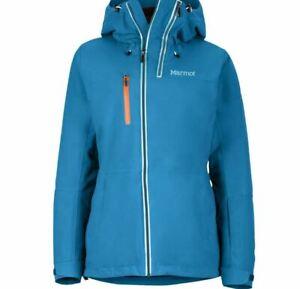 Marmot Dropway Jacket Women late night Green Size UK 10 (S) #REFSJ2
