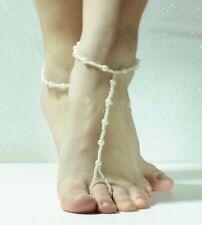 Chaine Bijoux de pied Bracelet de cheville Perles Pearl Peles Ankle bracelet