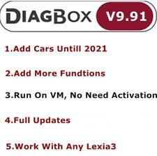 Diagbox V9.91 Diagnostic pour Lexia3 PP2000  citroën/Peogeot à 2021 (VMware)