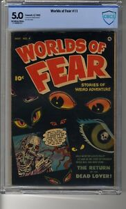 Worlds of Fear # 4 (1952) - CBCS 5.0 OW/White Pages - The Dead Lover Returns