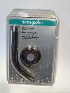 "Hansgrohe 27411833 1/2"" Shower Arm Flange Polished Nickel"