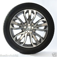 "GENUINE RANGE ROVER SPORT L494 STYLE 5007 21"" INCH ALLOY WHEELS WITH TYRES X4"