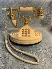 Vintage Floral 1973 Empress Telephone Am.Telecommunications Co. -