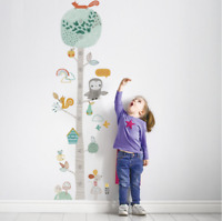 animal tree owl squirrel Wall Decal kids Nursery Baby Deco removable