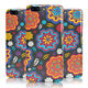 DYEFOR MULTICOLOUR FLORAL PATTERN ON GREY PHONE CASE COVER FOR ONEPLUS