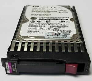 "HDD011 HP Proliant Server 146GB 2.5"" 10K 6G DP SAS SFF 507283-001"