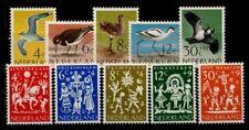 Niederlande 1961 Mi. 760-764 Postfrisch 100% 767-771-Für Kinder, Vögel.