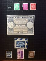 Small Collection Israel 1948, 1949 interim registered Letters, etc. With Stamps