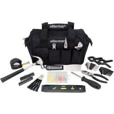 BOYS ESSENTIALS 53-Piece Tool Set KIT BLACK  BAG FOR 7+ REAL TOOLS TO HELP DAD