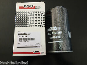 NEW HOLLAND TRACTOR ENGINE OIL FILTER GENUINE CNH TSA T5 T6 T7 84228488 (FF)