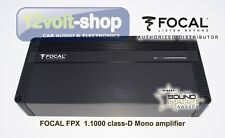 FOCAL Performance FPX 1.1000 Mono Class D amplifier 1Ω stable 1x1000W RMS