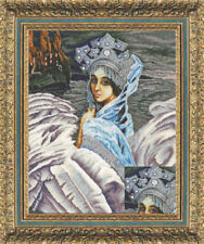 """Bead Embroidery kit GOLDEN HANDS MK-013 - """"The Swan Princess"""""""