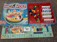 WADDINGTONS JUNIOR MONOPOLY COMPLETE CLASSIC ROLLERCOASTER GAME AGE 5-8 FREEPOST
