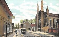 Hants  - RINGWOOD, Christchurch Road and Congregational  Church.