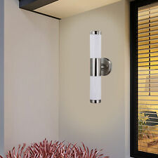 New Modern Led Up Down Wall Light Sconce Dual Head Lamp Fixtures Outdoor Indoor