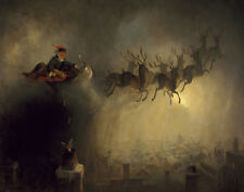 Beard Holbrook William Santa Claus Canvas 16 x 20   #3536