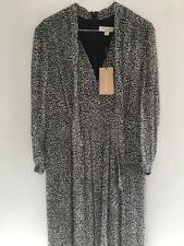 NEW Burberry Silk Leopard Print Maxi Dress Pleated Skirt Top @ Net A Porter