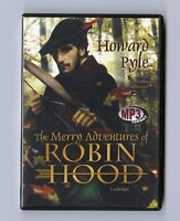 The Merry Adventures of Robin Hood by Howard Pyle - MP3CD - Audiobook
