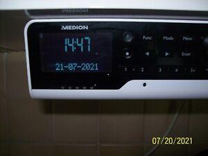 MEDION P66120 (MD44120) WLAN DAB+ Unterbauradio mit Amazon Alexa - Weiß
