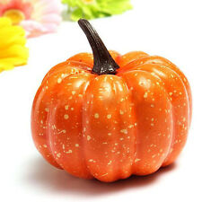 Artificial Halloween Fake Pumpkin Decor Fruits Vegetables Lifelike Foam F Gift