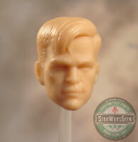 "ML207 Custom Cast male head sculpt use w/6"" Marvel Legends"