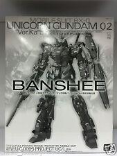 Premium Bandai MG 1/100 RX-0 Unicorn Gundam 02 Version Ka Banshee Final Battle