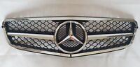 2007 - 2014 Benz C Class C43 W204 SPORTS C180 C200 FRONT GRILLE CHROME EMBLEM