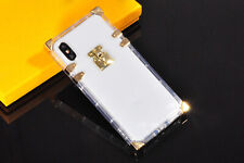 iPhone X XS Max XR 7 8 Clear Crystal Transparent TPU Silicone Rubber Case Cover