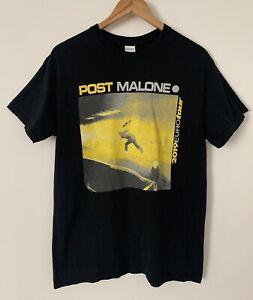 Post Malone 2019 Euro Tour T shirt Official Merchandise Size Medium