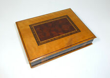 Wooden Box Casket Can Um 1900 Various Types