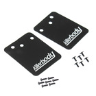 RC 1/10 Scale Accessories Rubber MUD FLAPS For Trucks #48043