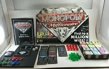 Monopoly Millionaire Board Game 98838 Parker Brothers Family Money Finance 8+