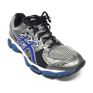 Men's Asics Gel-Nimbus 14 Running Shoes Sneakers Size 9.5 US/43.5 EU Gray Blue